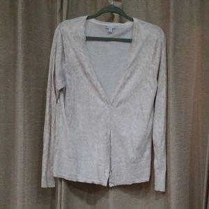 GAP Vneck Button Down Sweater, Size XL